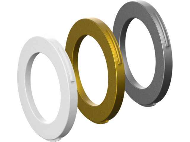 Magura Blenden-Kit 2 Kolben Bremszange ab MJ2015 weiß/gold/silber